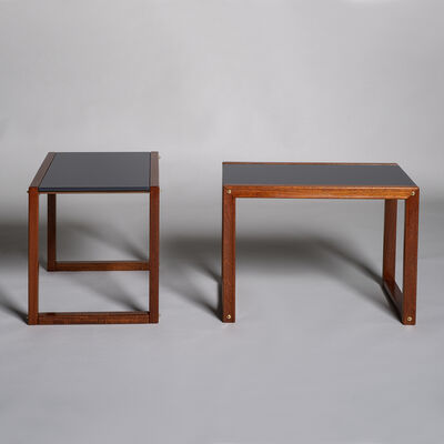 André Sornay, 'Pair of side tables', ca. 1955