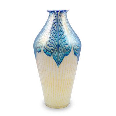 Loetz, 'Large Vase Loetz decor Phenomen Genre 2/187 ca. 1902 ', ca. 1902