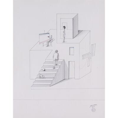 Saul Steinberg, 'Architecture', 1966