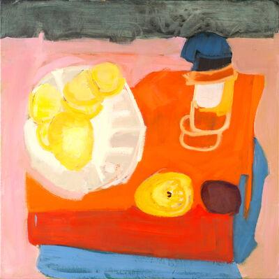 Kathleen Craig, 'Fruit on Orange Box'
