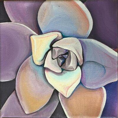 Jamie Cola-Bersamina, 'Lavender Succulent', N/A