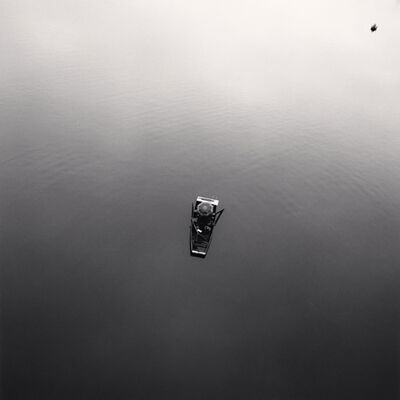 Michael Kenna, 'Two People Fishing, Prague, Czechoslovakia', 1992