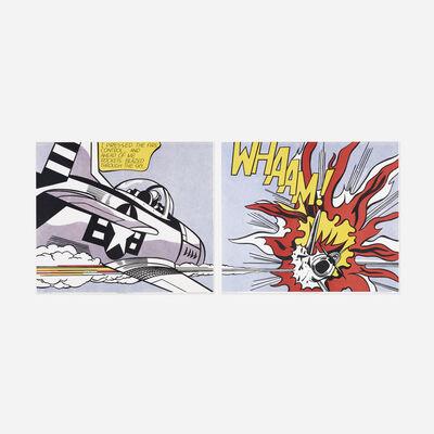 Roy Lichtenstein, 'WHAAM! poster (diptych)', 1967
