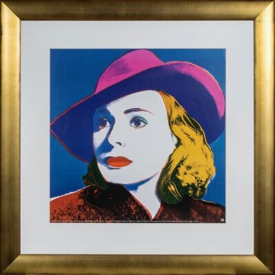 Andy Warhol, 'Ingrid Bergman: With Hat', 1993