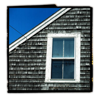 David Glick, 'Troro Firehouse Window'