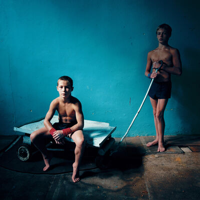 Michal Chelbin, 'Two Athletes', 2006