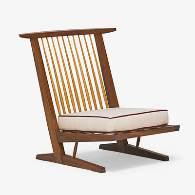 George Nakashima, 'Conoid Cushion Chair, New Hope, PA'