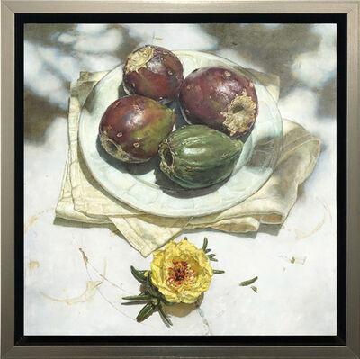 Jeffrey Ripple, 'Portulaca and Prickly Pear', 2020