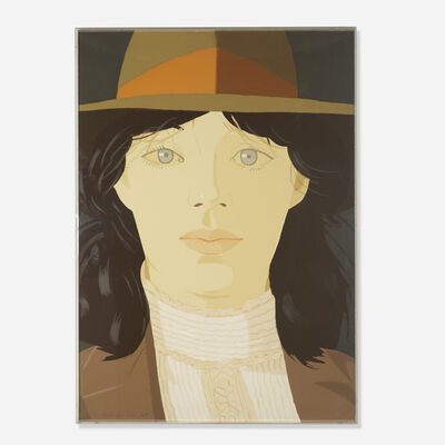 Alex Katz, 'Orange Band', 1979