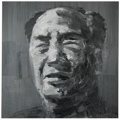 Yan Pei-Ming, 'Mao Chinese Vermilion #6', 2001