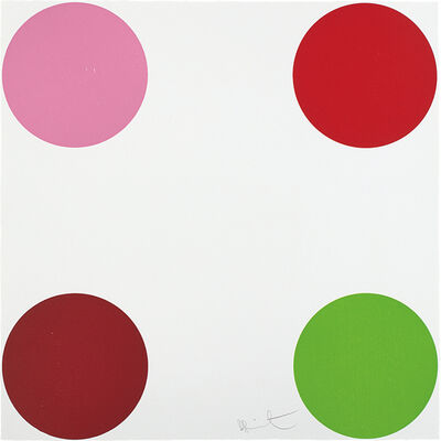 Damien Hirst, 'Curare, from 40 Woodcut Spots', 2011