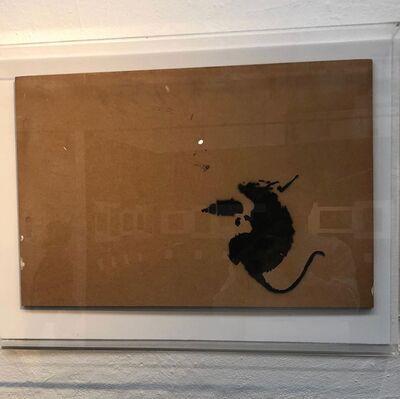 """Banksy, '""""Drill Rat""""', 2003"""