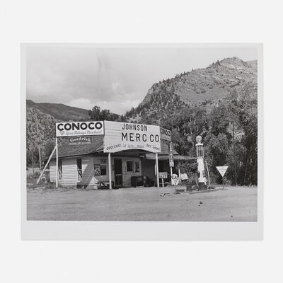 Russell Lee, 'Grocery Store and Filling Station, Cimarron, Col.', c. 1940