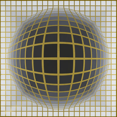 Victor Vasarely, 'Re.Na II A', 1968