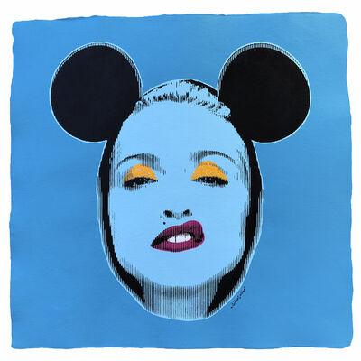 Silvio Alino, 'Pop Icon Madonna Turquoise', 2018