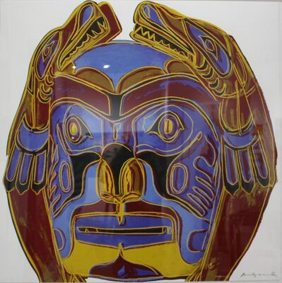 Andy Warhol, 'Northwest Coast Mask (FS II. 380)', 1986