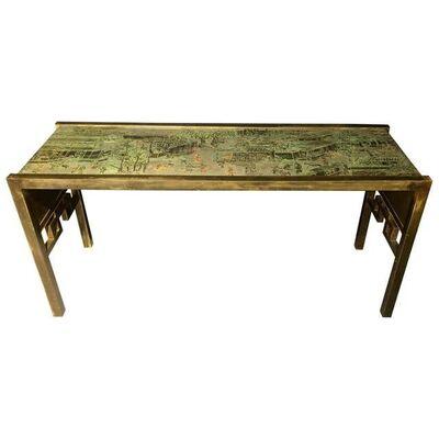 Philip and Kelvin LaVerne, 'Philip & Kelvin Laverne Oriental Console Table', 1960