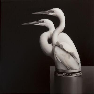 Sam Leach, 'Egrets with pressure seal', 2018