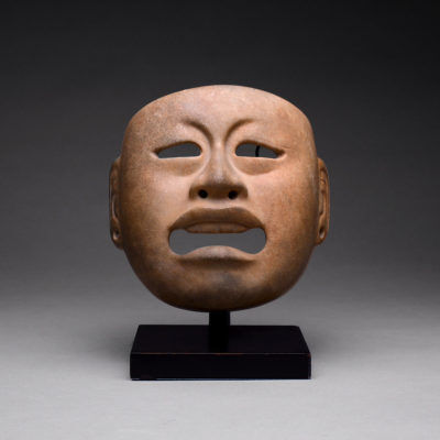Unknown Pre-Columbian, 'Olmec Jadite Mask', 1200 BCE-600 BCE