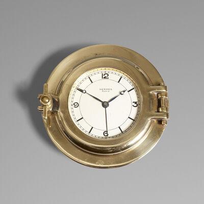 Hermès, 'Porthole table clock', c. 1955