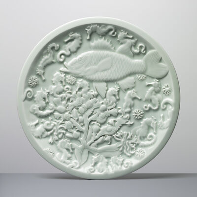 Roger Law, 'Fish and Seahorses ', 2017