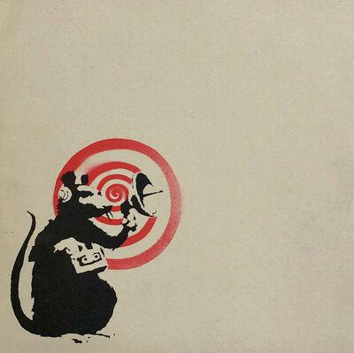 Banksy, 'Banksy vinyl record art 2008 (Radar Rat) ', 2008