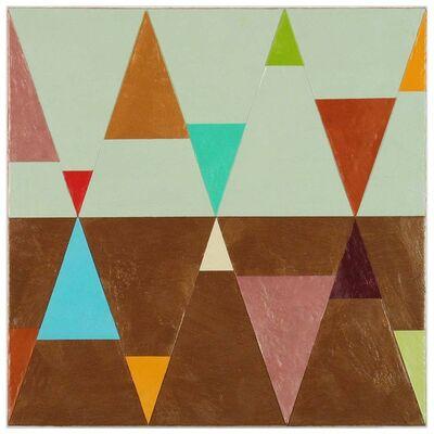 Joanne Mattera, 'Chromatic Geometry 17', 2019
