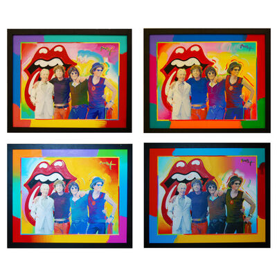 Peter Max, 'Rolling Stones (Set of 4)', 2001