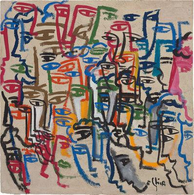 Sandro Chia, 'Volti', 2007