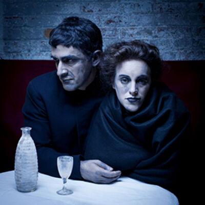 Amy Arbus, 'David & Sam / After Café (Picasso's Couple in a Café, 1903)   ', 2011