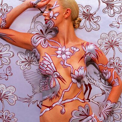 Emma Hack, 'Wallpaper Egrets - Wallpaper 2007', 2007