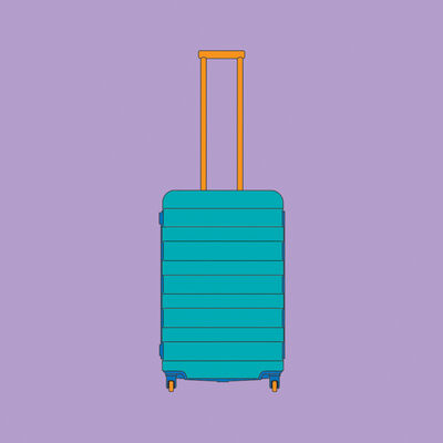 Michael Craig-Martin, 'Objects of Our Time: 4 Wheel Suitcase', 2014