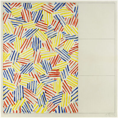Jasper Johns, '#1, After 'Untitled 1975'', 1976