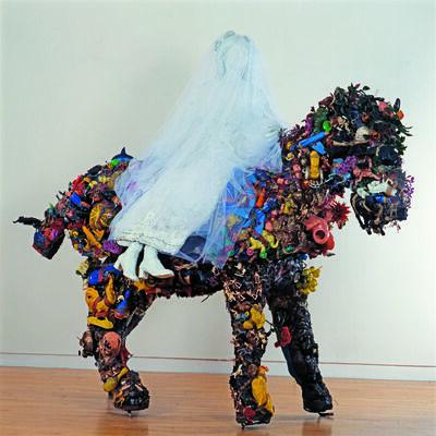 Niki de Saint Phalle & Jean Tinguely, 'Cheval et la Mariée (Horse and Bride)', 1963