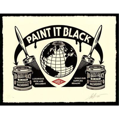 Shepard Fairey, 'Paint it Black', 2020