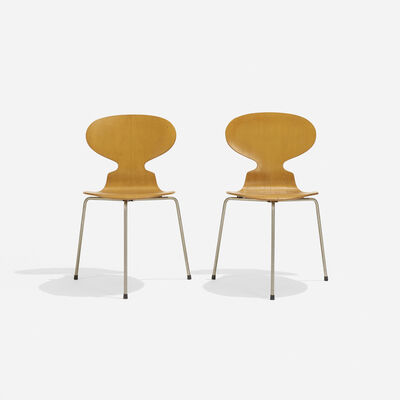 Arne Jacobsen, 'Ant Chairs, Pair', 1952