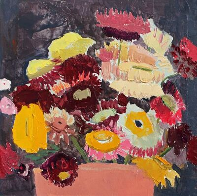Sydney Licht, 'Still Life with Flowers in a Pot', 2017