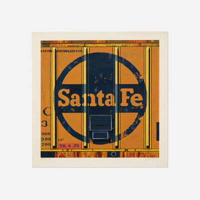 Robert Cottingham, 'Santa Fe', 1988