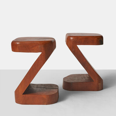 José Zanine Caldas, 'Pair of Side Tables by Jose Zanine Caldas', ca. 1970