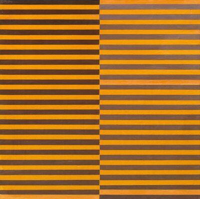 Dadamaino, 'Ricerca del colore. Marrone su arancio', 1966-68