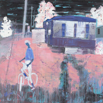 Lindy Chambers, 'Girl and Bike', 2020