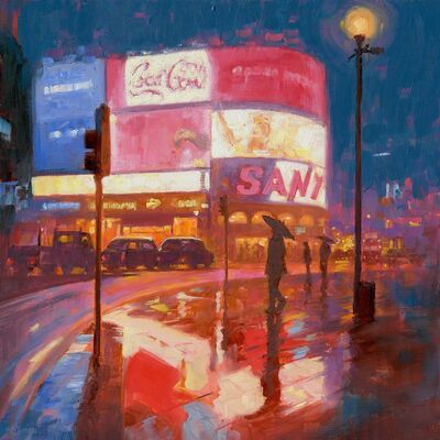 Mark Harrison, 'Piccadilly Circus 6pm'