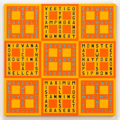 Walter Robinson, 'Boxcross / Jughead Halibut', 2011