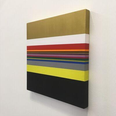Willem Besselink, 'Romankleuren - Het pad van de gele slippers - Kader Abdolah', 2019