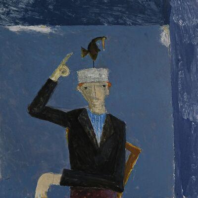 Malcolm Moran, 'A Bird Landed on Francis' Head', 2020