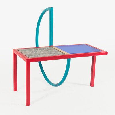 Przemek Pyszczek, 'Przemek Pyszczek, Table with Teal Ring, CA, 2019', 2019