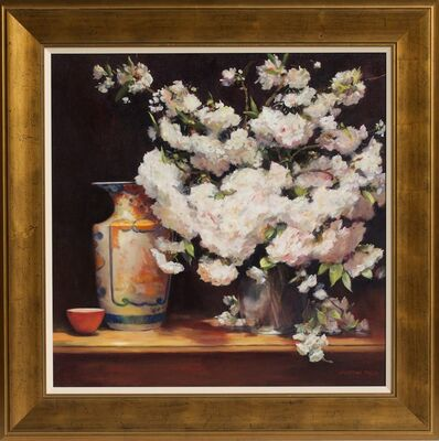 Jacqueline Fowler, ''Imari Vase with Blossoms' ', 2014