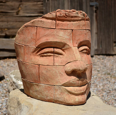 James Tyler, 'Brick Face LOVE 1 '