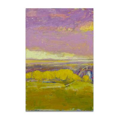Patrick Adams, 'Hilltop and Lavender  Sky'
