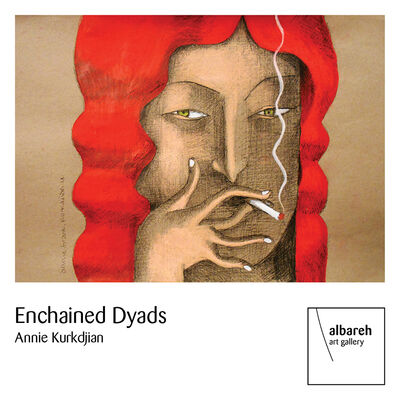 Enchained Dyads, installation view